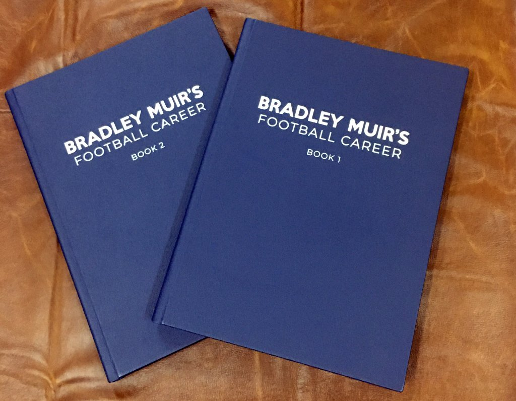 Bradley Muir Football Career